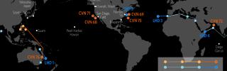 U.S. Naval Update Map: June 27, 2019