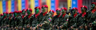 The Venezuelan government's biggest concern is not what the opposition might do next, but what its own armed forces are capable of.