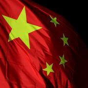 The flag of mainland China.