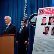 Deputy Attorney General Jeffery A. Rosen on Sept. 16, 2020, at the Department of Justice in Washington talks about charges and arrests related to computer intrusion campaign tied to Chinese government the group called 'APT 41.'