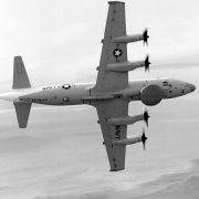 A U.S. Navy EP-3 surveillance plane.