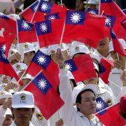 National Day celebrations on Oct. 10, 2004, in Taipei, Taiwan.