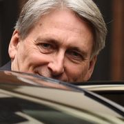 Britain's chancellor of the exchequer, Philip Hammond, heads to the House of Commons in London on Dec. 12, 2018.