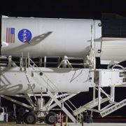 A Falcon 9 rocket.