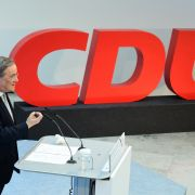 CDU party chairman Armin Laschet speaks on the occasion of the start of the participation campaign for the CDU's election program March 30, 2021, in Berlin.
