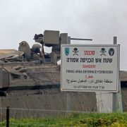 Israeli troops are pictured during a military drill in Golan Heights on Jan. 13, 2021.