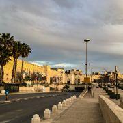 Entrance to the Old City of Jerusalem.