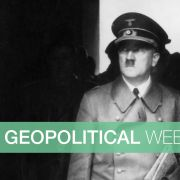German dictator Adolf Hitler (1889 - 1945) in Langemarck.