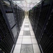 An image of CERN Data Centre and server farm on April 19, 2017 in Meyrin, Switzerland.