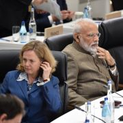 Indian Prime Minister Narendra Modi at the G20 in Japan.